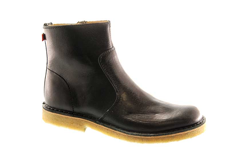 AMERICANO - CLASSICALLY TIMELESS HALF BOOT WITH A SIDE ZIP