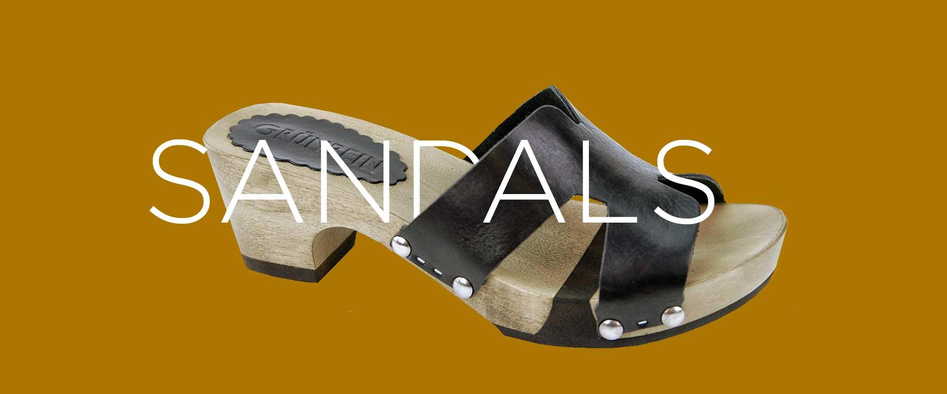 GRÜNBEIN SANDALS & MULES