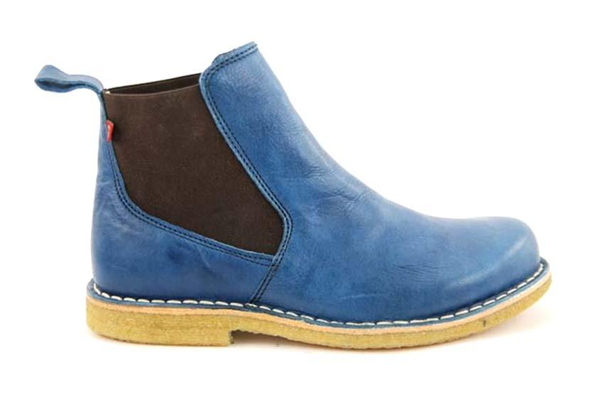 Susanne: Chelsea Boots in Naturform mit Kreppsohlen