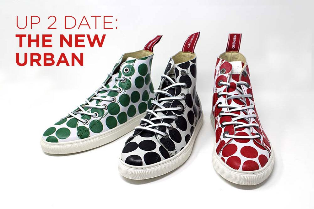 Spring 2020: New Shoe Styles from Grünbein - Urban Dots 2020