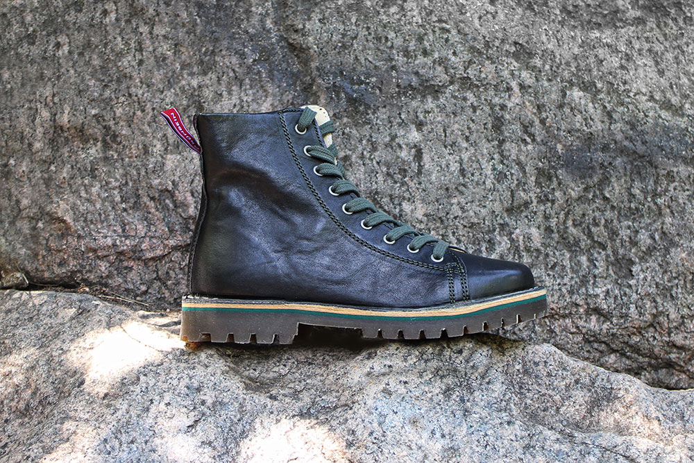 Trend-Thema: Grünbein Hiking-Boots